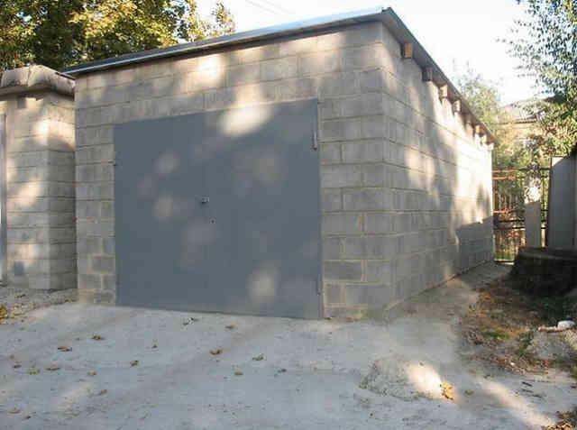 Отдельно стоящий гараж в ГСК