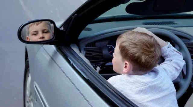 Если ребёнок за рулём